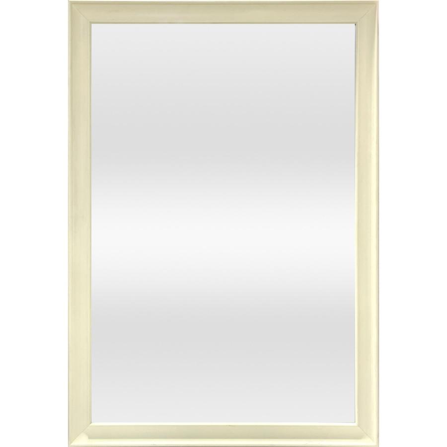 NICE กระจกมีกรอบ 60X90CM  1817-W1  สีขาว