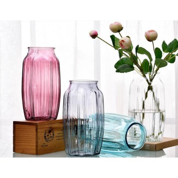 COZY แจกันแก้ว ขนาด 12x22 ซม. Faris-W สีใส ใส