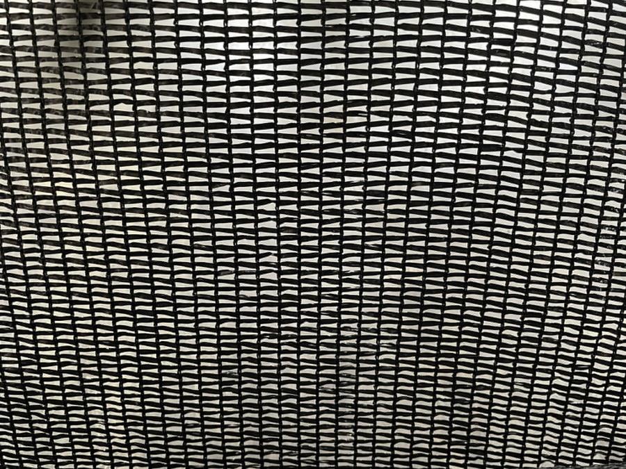 POLLO สแลนท์ HDPE 50% ขนาด 2 x 100 เมตร SH-3211-55 สีดำ