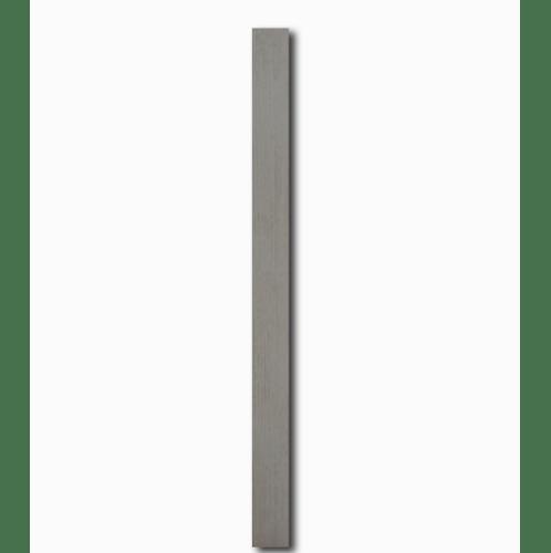 โอฬาร ไม้ระแนง ขนาด 0.8x7.5x300 ซม.สีธรรมชาติ  ขอบตรง สีขาว