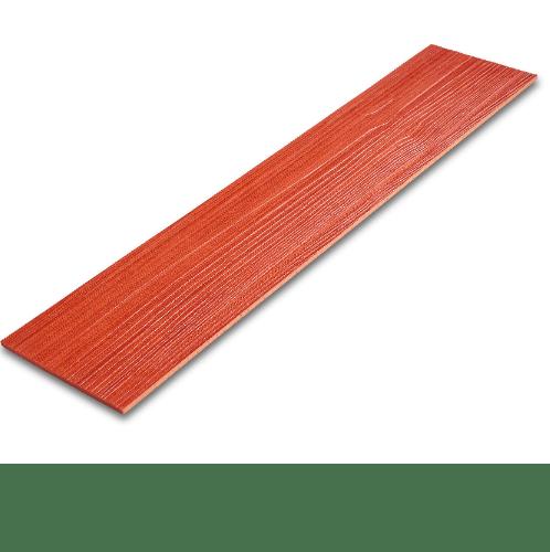 โอฬาร ไม้ฝา  ขนาด 0.8x15x400 ซม. สีมะฮอกกานี