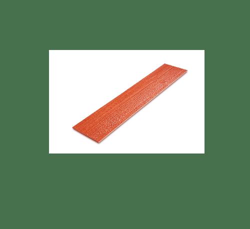 โอฬาร ไม้ฝา   ขนาด 0.8x15x400ซม.สีแดงเชอรี่ แดง