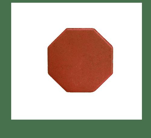 โอฬาร บล็อคปูถนน  ศิลาดิษฐ์ 6 cm.  แดง