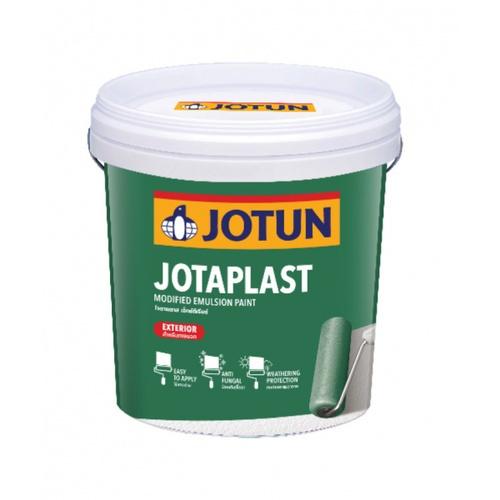 JOTUN โจตาพลาส เอ็กซ์ทีเรียร์ ขาว 9 ลิตร  ขาว 9 ลิตร  สีขาว
