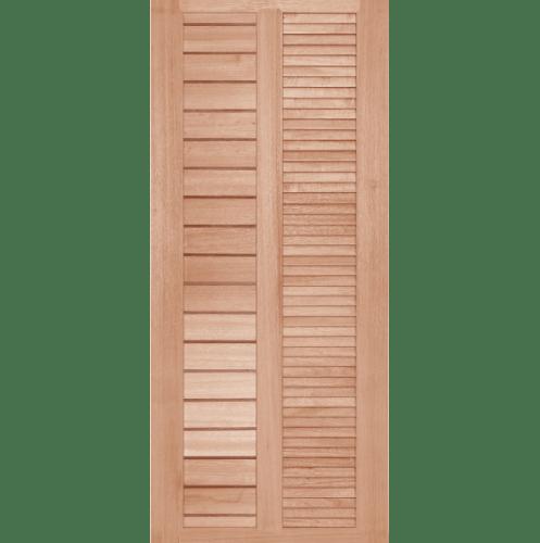 BEST ประตูไม้สยาแดง ขนาด 70x180 ซม. GS-22