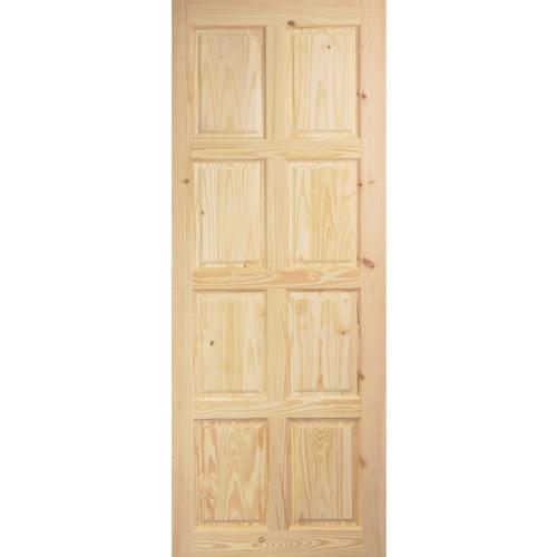 BEST ประตูไม้สน ขนาด 80x200 cm. GS-48