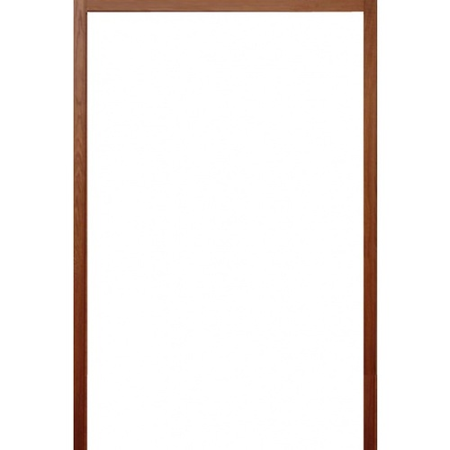 BEST วงกบประตูไม้เนื้อแข็ง   ขนาด  145x220 ซม. ทำสี