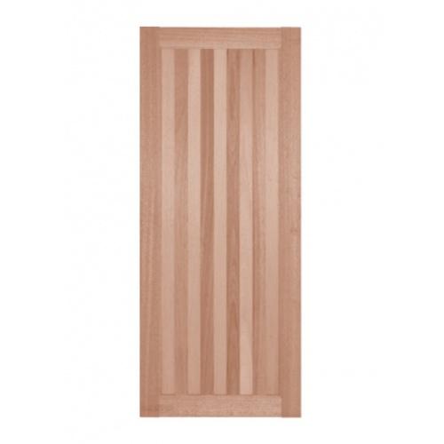 BEST  ประตูไม้สยาแดงบานทึบ ขนาด 40x200ซม. GS-46