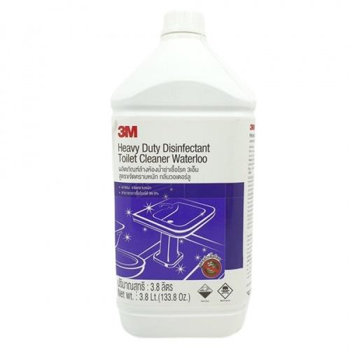 3M ผลิตภัณฑ์ล้างห้องน้ำฆ่าเชื้อโรค  สูตรขจัดคราบหนัก กลิ่นวอเตอรัล