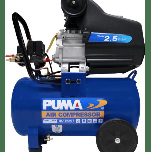 PUMA ปั๊มลมโรตารี่ 2.5HP ขนาด 25L CM2525 น้ำเงิน