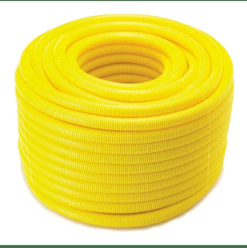 SCG PVC SCG-ลูกฟูกร้อยสายสีเหลือง 25x25  PVC SCG-ลูกฟูกร้อยสายสีเหลือง 25x25