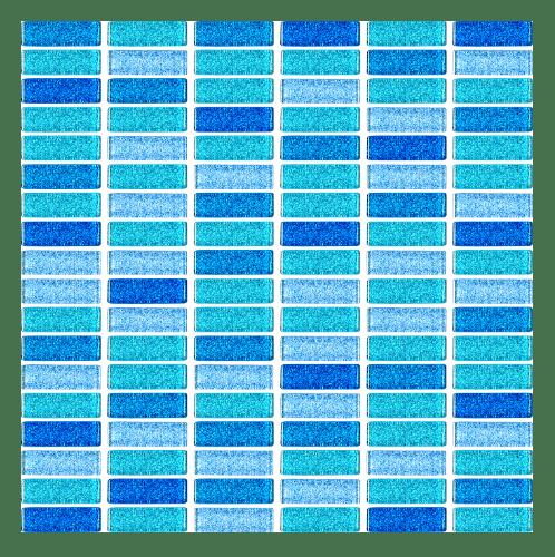 Duragres GL-477  Blue Spray Liner โมเสคแก้ว