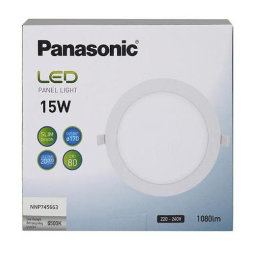 PANASONIC หลอด LED พาแนล 15 วัตต์ แบบกลม เดย์ไลท์ NNP745663