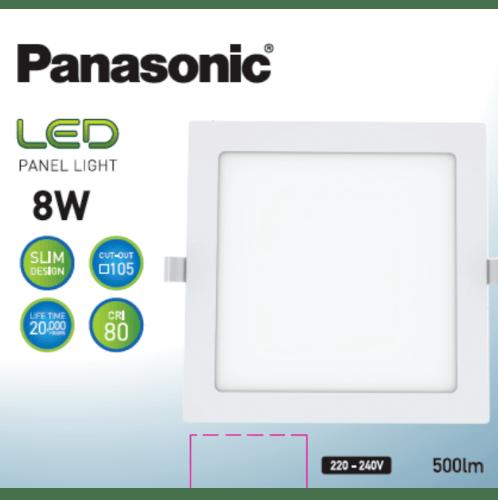 PANASONIC หลอด LED พาแนล 8 วัตต์ แบบเหลี่ยม เดย์ไลท์ NNP712673