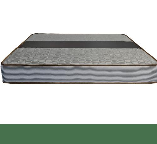 Truffle ที่นอนสปริง  ผ้าริ้วเทาเดินลายคาด PVC Classic Sleep 6x9 ฟุต