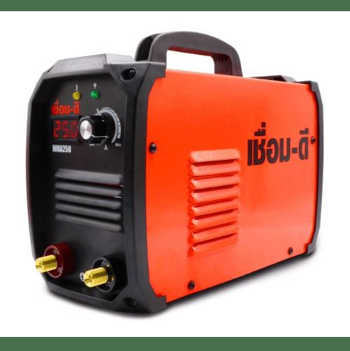 WELPRO เครื่องเชื่อมไฟฟ้าอินเวอร์เตอร์ เชื่อมดี MMA250 สีส้ม