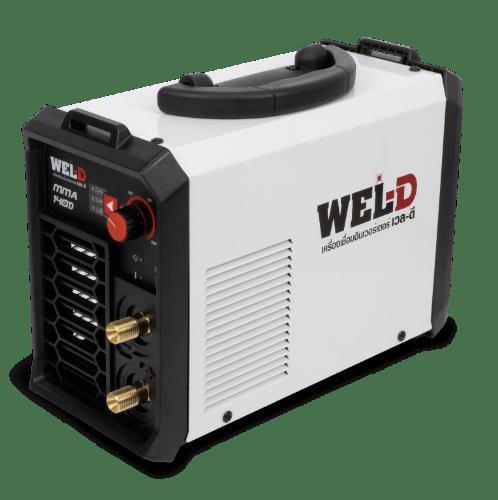 WEL-D เครื่องเชื่อม 140 แอมป์ MMA 140D สีขาว