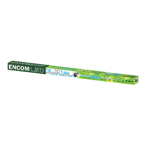 RACER หลอด LED T8 TUBE 9W.DL (PEA ENCOM) 13245LEDD000001 ขาว