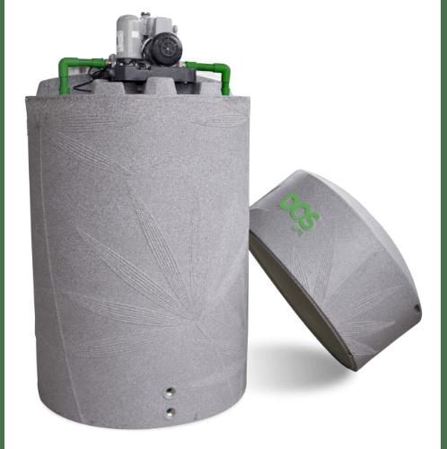 DOS ถังเก็บน้ำแกรนิต  2000L + ปั๊มน้ำ WM-P150W   NATURA WATER PAC  เทา