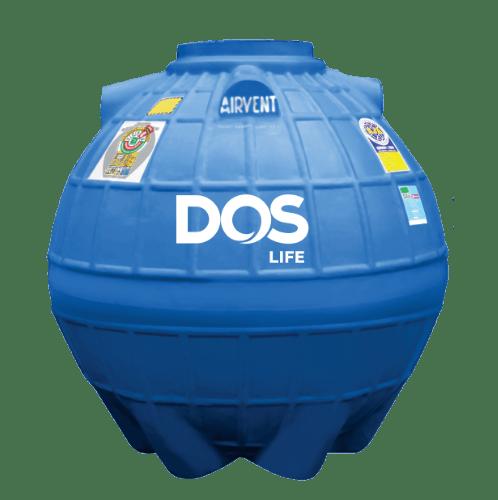 DOS ถังเก็บน้ำใต้ดิน 800L DUT EXTRA สีน้ำเงิน