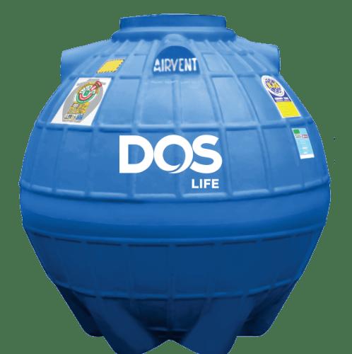 DOS ถังเก็บน้ำใต้ดิน 1000L  DUT EXTRA สีน้ำเงิน