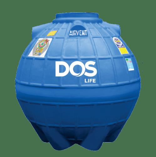 DOS ถังเก็บน้ำใต้ดิน 1200L  DUT EXTRA สีน้ำเงิน