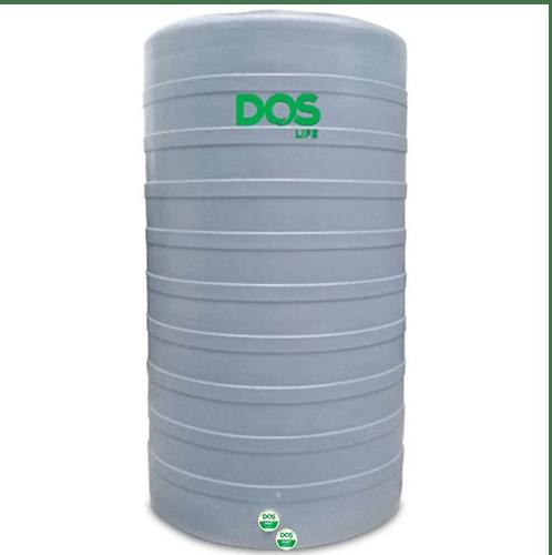 DOS ถังเก็บน้ำบนดิน CHAMP CAP-3000 L สีเทา