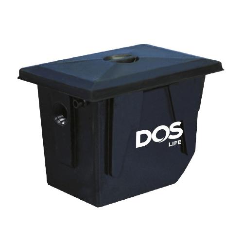 DOS ถังดักไขมันใต้ดิน DOS GT-02/BK-90L GREASE TRAP สีดำ
