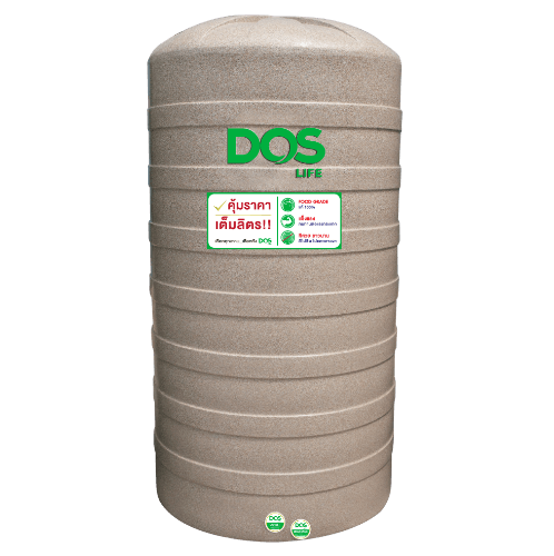 DOS ถังเก็บน้ำ 700 L แกรนิตทราย GRANITO DWT  สีน้ำตาลอ่อน