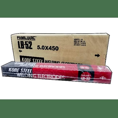KOBE ลวดเชื่อมเหล็กเหนียว ขนาด 5.0X450mm.  LB-52 E7016