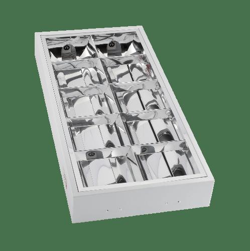 HI-TEK โคมฟลูออเรสเซนต์ชนิดติดลอย 2X18วัตต์  HFIG3S0218