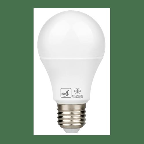 HI-TEK หลอดLED 8W(A60) ECO S E27 แสงนวล  HLLE27008W