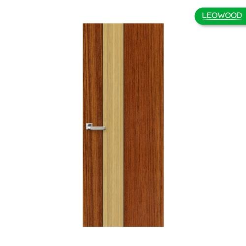 LEOWOOD ประตู iDoor S1 IZT13 ขนาด 35x800x2000 มม. (IP1238) สีน้ำตาลอ่อน