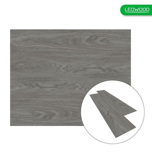 LEOWOOD ไม้พื้นกันน้ำ  Leo Aqua Grey Oak (4x180x1218mm)(2.63.ตรม) A. สีเทา
