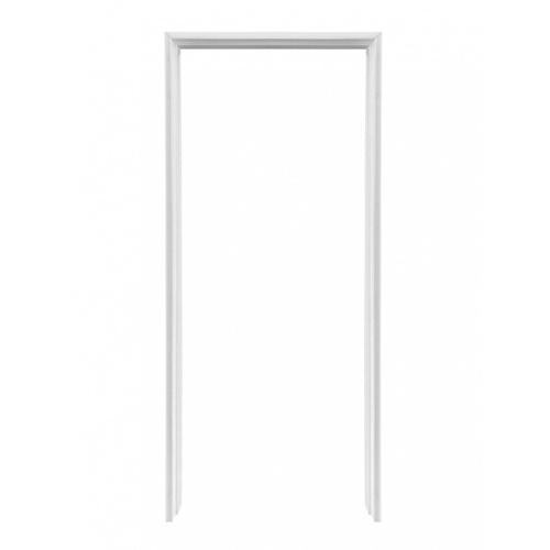 LEOWOOD วงกบ ไม้สังเคราะห์ สี White ภายนอก ขนาด 40/100x800x2000 ซม. Leo Frame Premium สีขาว