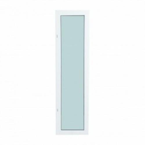 TRUSTAND (EZY WINDOW)  หน้าต่างอะลูมิเนียมบานติดตาย 120x40ซม.  Enzo สีขาว