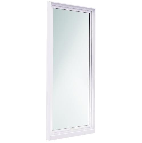 TRUSTAND (EZY WINDOW) หน้าต่างบานกระทุ้งพร้อมมุ้งลวด ขนาด  60x155ซม. สีขาว