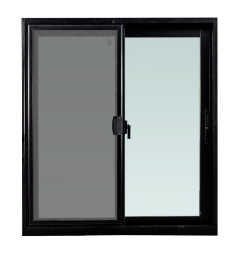 TRUSTAND (EZY WINDOW) หน้าต่างอะลูมิเนียมบานเลื่อนพร้อมมุ้งลวด ขนาด 100x110ซม. (ENZO) W-SS  null