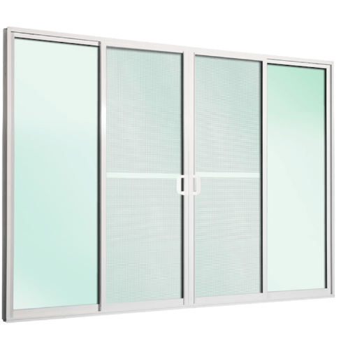 TRUSTAND (EZY WINDOW) ประตูบานเลื่อนคู่ Trustand Ezy Plus สีขาว