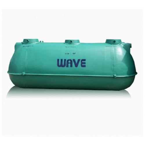 WAVE ถังบำบัดน้ำเสียไฟเบอร์กลาส ขนาด 5300ลิตร WSA-363 สีเขียว