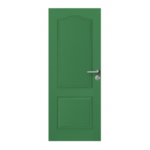 metro ประตู HDF ขนาด  80x200cm.  MILANO-202 สีเขียว