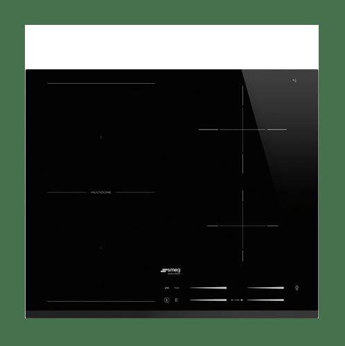 Smeg  เตาแม่เหล็กไฟฟ้า ขนาด 60 ซม.   SI1M7643B สีดำ