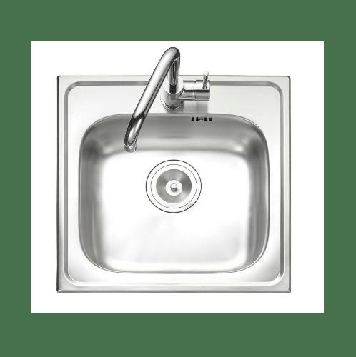 MEX อ่างล้างจาน 1 หลุมไม่มีที่พัก  DLA50