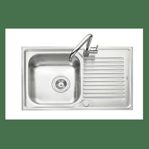 MEX อ่างล้างจาน 1 หลุมมีที่พัก DLA81