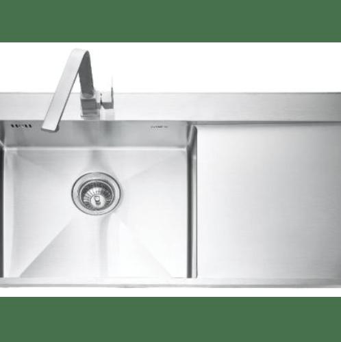 MEX อ่างล้างจาน 1 หลุมมีที่พัก SCD861