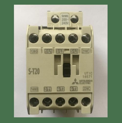 คอนแทคเตอร์ มิตซู ST20-220V  ขาว