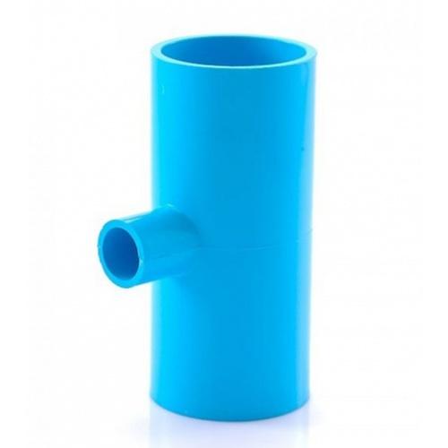ท่อน้ำไทย สามทางลด-หนา   ขนาด2 นิ้ว  สีฟ้า