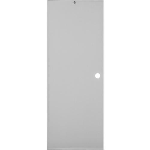CHAMP ประตู+วงกบ ขนาด 70x180 ซม.  (เจาะ) SE1 สีเทา
