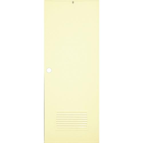 CHAMP ประตู+วงกบขนาด 70x200 ซม. (เจาะ) S-ECON2 สีครีม