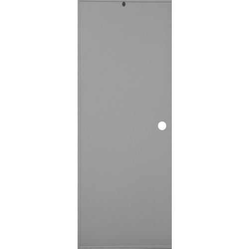 CHAMP ประตู+วงกบ ขนาด  70x200 ซม. SE1(เจาะ) สีเทา